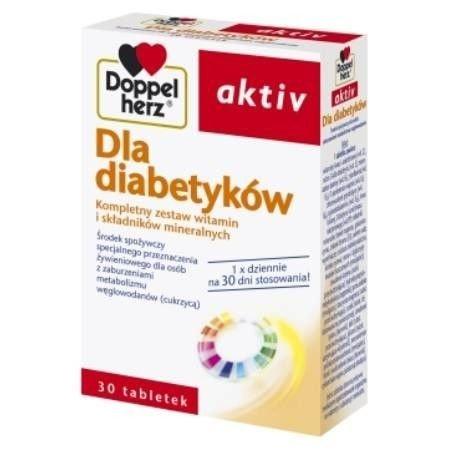 Doppelherz aktiv Dla diabetyków tabl. 30ta