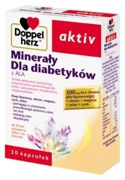 Doppelherz aktiv Minerały dla diabetyków z ALA