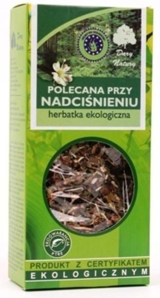 Herbata przy NADCIŚNIENIU 50g Dar Natury