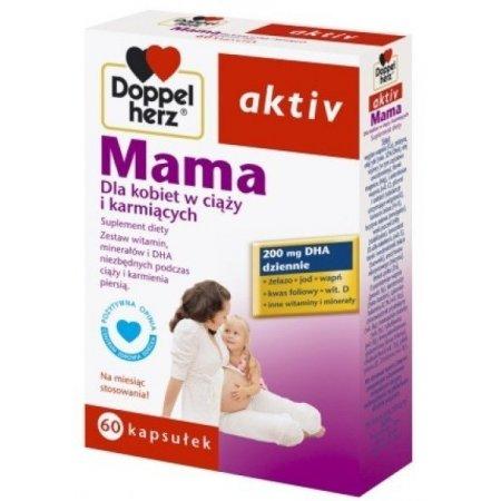 Doppelherz aktiv Mama Dla kobiet w ciąży i karmiących