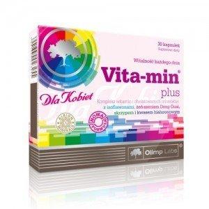 Olimp Vita-min Plus dla kobiet kaps. 30