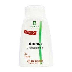 Żel pod prysznic Atomus z Nanosrebrem dla kobiet