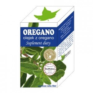 OLEJEK Z OREGANO 50 ml