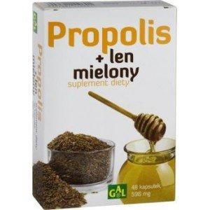 Propolis + len mielony kapsułki 48 sztuk