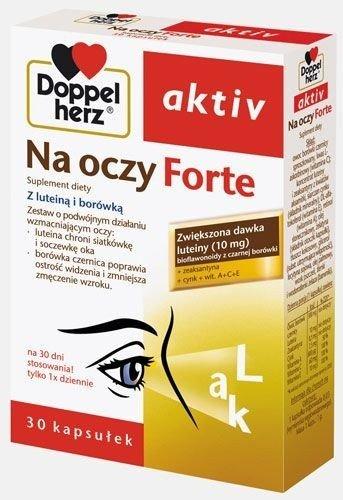 Doppelherz aktiv Na oczy Forte kaps. 30kap