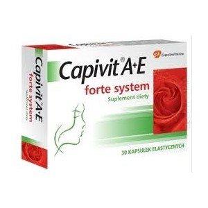 Capivit A+E forte system kaps. 30 kaps.