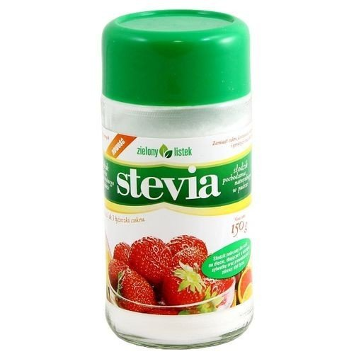 Stevia zielony listek proszek 150 g