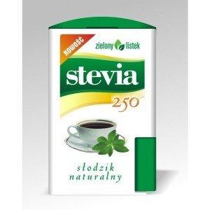 Stevia Zielony Listek tabletki 250 sztuk