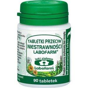 Tabletki przeciw niestrawności Labofarm tabl. 90tabl
