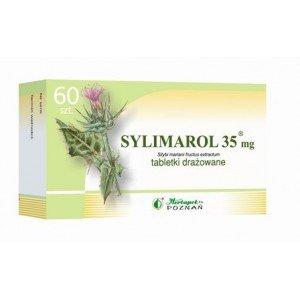Sylimarol 35mg tabletki drażowane 0,035g 60 tabletek
