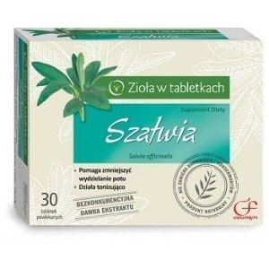 Szałwia tabletki powlekane 30 tabl.