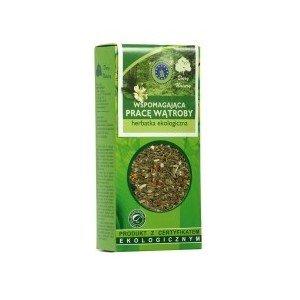 Herbata na pracę WĄTROBY 50g Dar Natury