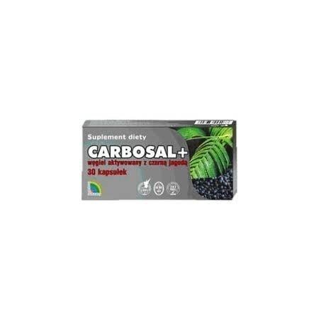 Carbosal z czarną jagodą kaps. 30 kaps.