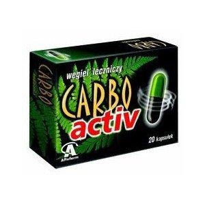 Carbo Activ kaps.twarde 0,2g a 20 kaps