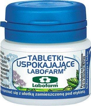 Tabletki uspokajające Labofarm tabl.powl. 20ta