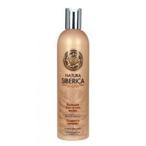 Natura Siberica szampon do włosów suchych nawilż ochr i odż 400ml
