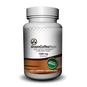 Zielona kawa - ekstrakt 1000mg- slim green- 90kaps