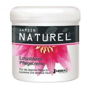 Krem pielęgnacyjny z kwiatem lotosu Jardin Naturel 250 ml