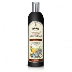 Receptury Babuszki Agafii szampon na cedrowym propolisie wzmac.