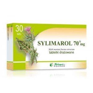Sylimarol 70mg tabletki drażowane 0,07g 30 tabletek