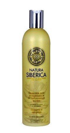 Natura Siberica szampon do włosów OSŁABIONE ochr/en400ml