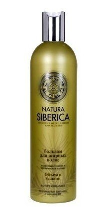 Natura Siberica balsam do włosów-tłuste 400ml