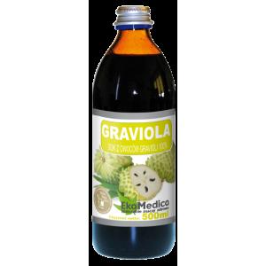Sok Graviola 500ml HERBALAYS - wsparcie w walce z rakiem