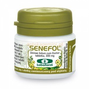 Senefol tabletki 0,3 g 20 tabl.