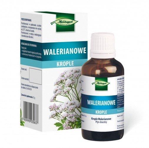 Krople walerianowe (Tinctura Valeriane) 35ml