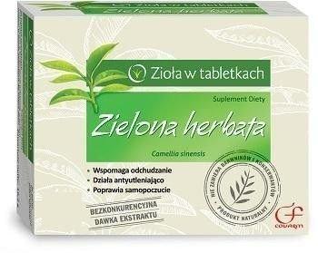 Zielona herbata tabletki 60 sztuk