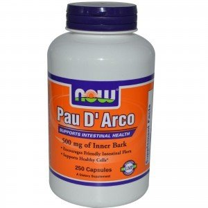 PAU D ARCO NOW FOODS 250 kaps