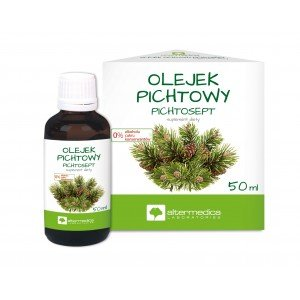 Olejek Pichtowy - Pichtosept 50ml. Alter MedicaoLEJEK pICHTOWY