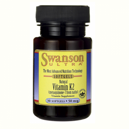 SWANSON Vitamina K2 50mcg 30tabl.