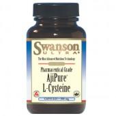 Swanson AjiPure L-Cysteine (L-Cysteina, NAC) 500mg 30 kaps.