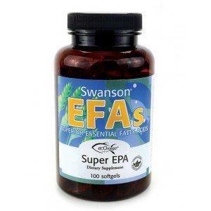 SWANSON EFA Super Epa 100 kaps.