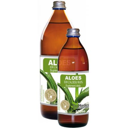Aloes sok 500 ml Eka Medica