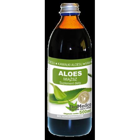 Aloes sok z miąższem 500 ml Eka Medica