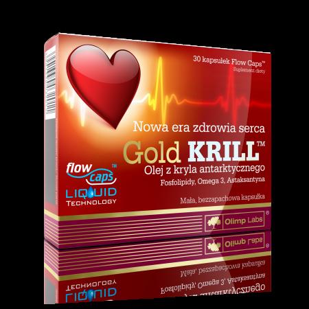 OLIMP Gold KRILL kaps.miękkie 30 kaps.