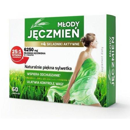 Młody Jęczmień +4 składniki aktywne 60 tabl.