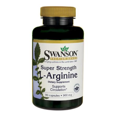 Swanson L-Arginina Forte 900 mg 90 kaps.