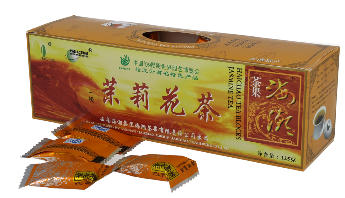 Czerwona Herbata PU-ERH kostki 125g