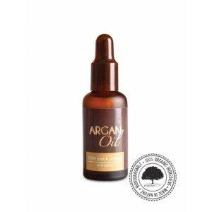 Olej arganowy Bio ECOCERT- ciemna szklana butelka 50ml. MAROKO