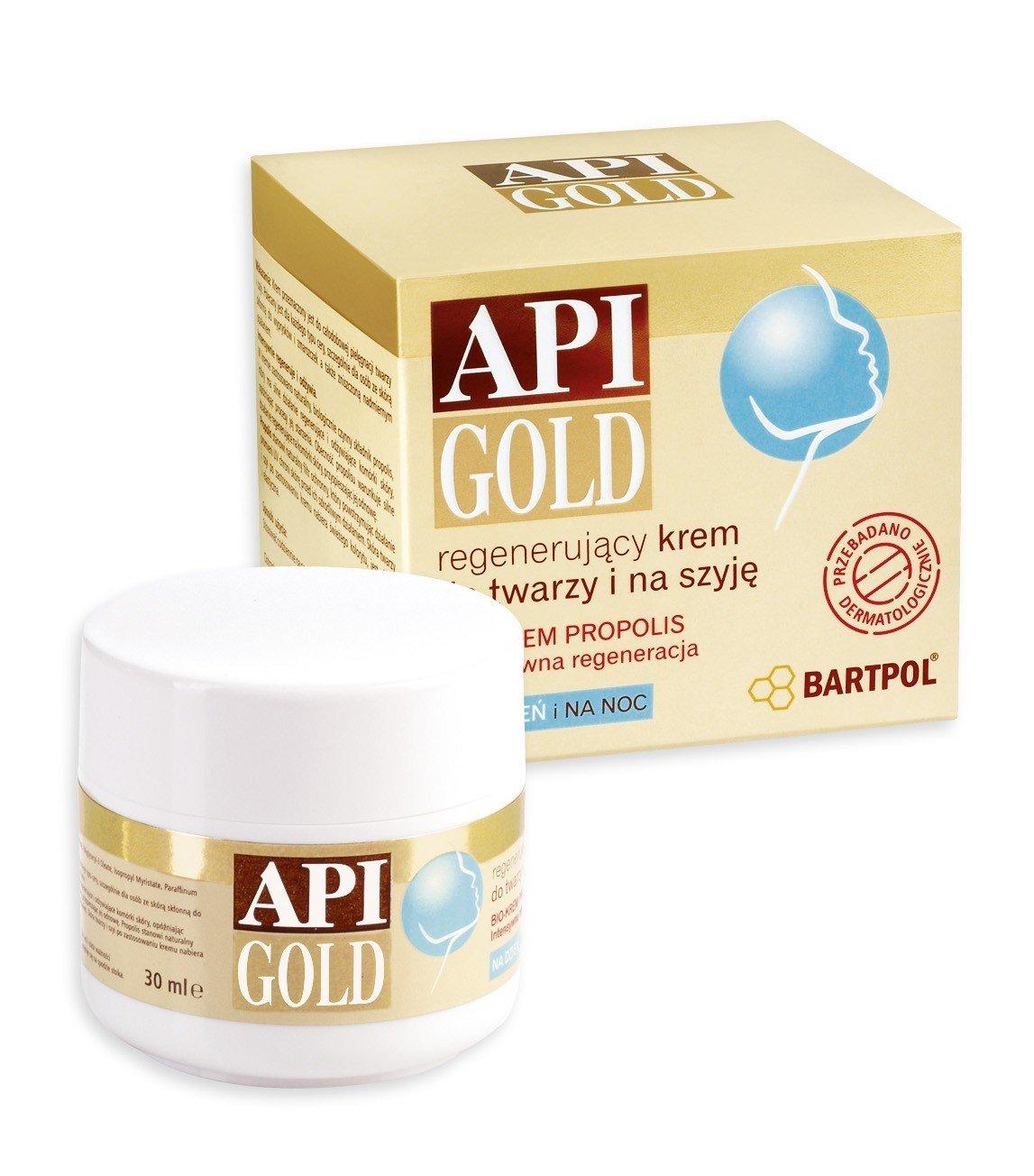 API GOLD Propolisowy krem do twarzy i szyji - BARTPOL