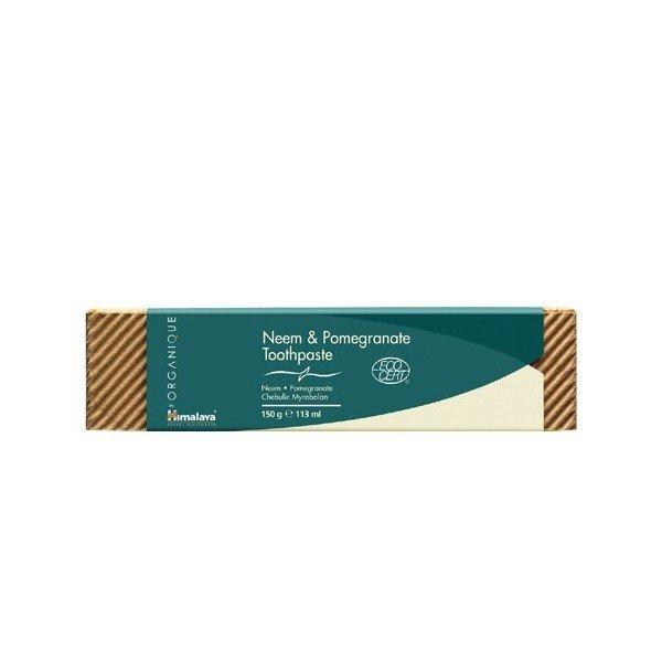 Himalaya Organique Pasta do zębów neem & granat 150 g