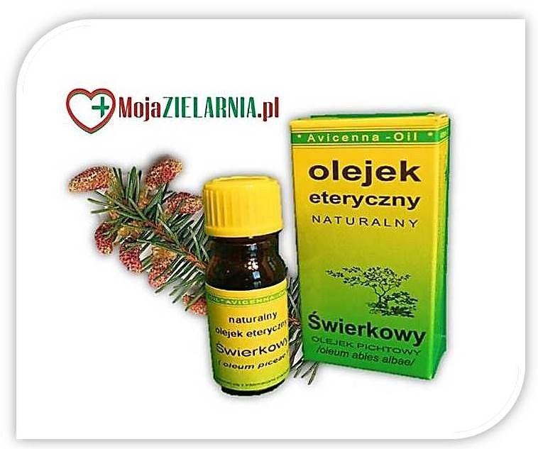 Olejek ŚWIERKOWY 7 ml Avicenna