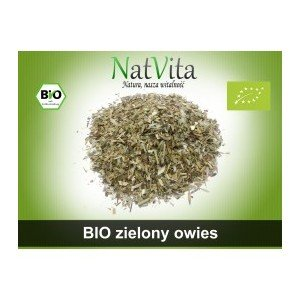 Zielony Owies pociety 100g. Nat Vita