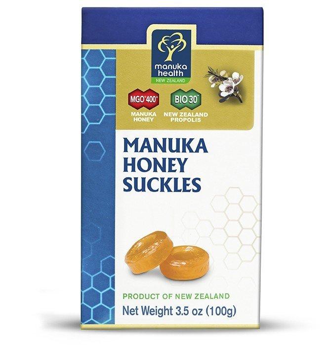 Cukierki z miodem Manuka MGO 400+ i propolisem - Propharma