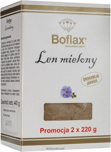 Len mielony Bioflax