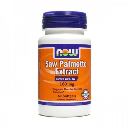 Now Foods Saw Palmetto Extract 160mg. 60kaps.