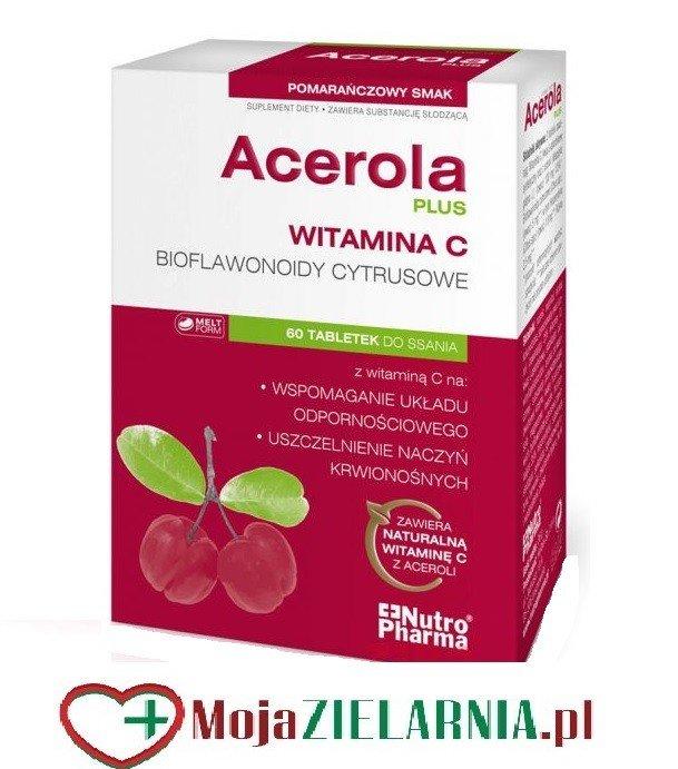 Acerola Plus 60 tabl. do ssania